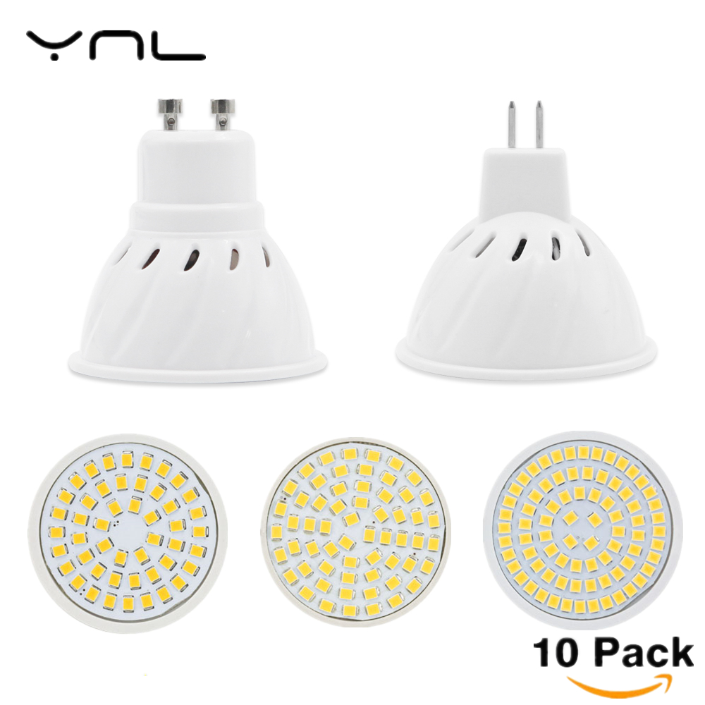 10PCS Lot Lampada Led E27 E14 GU10 MR16 Led Lamp 220V High Bright Bombillas LED Bulb