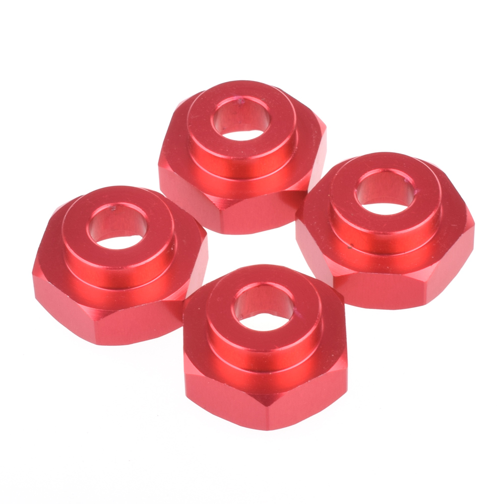 12-17mm Alum Hex Adapters 12MM penukaran 17MM Aluminium menggabungkan