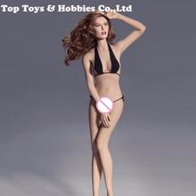 цены Sexy Phicen Figure Doll PLMB2014-S02 1/6 Super-Flexible Female Seamless Body With Steel Skeleton Mid Bust Tan Color