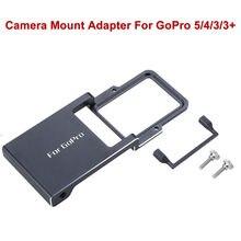 Blueskysea Switch Mount Plate Adapter Handheld Gimbal Mobile Camera For GoPro Hero 5/4/3/3+ Xiaoyi 4K 4K+