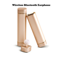 K1 Wireless Bluetooth 4.1 Mini Earphones Sports Stereo 1 Ear Earpbuds In Ear Headphone 900mAh Power Bank for Android IOS Phone