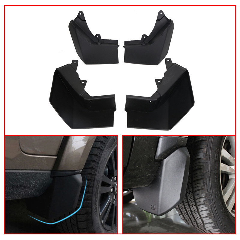 Front Rear Mud Flaps For Land Rover LR3 Discovery 3 Splash Guards Mudguards Fender 2005-2009 CAS500010PCL CAT500010PCL // юбка concept club concept club co037ewxpa58