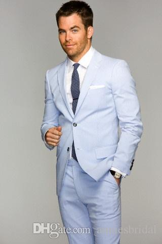 High Quality Light Blue Tuxedos Promotion-Shop for High Quality ...