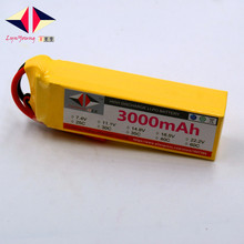 3000mAh 14.8V 40C 4S LYNYOUNG lipo battery for RC Helicopter Aircraft Drone Boat Car Model plane lipo battery
