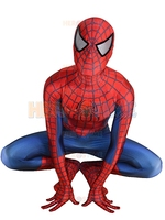 Custom Raimi Spiderman costume Zentai Spider man Cosplay Suit 3D Print Lycra Spandex Full Body Spidey Suit Halloween Jumpsuit