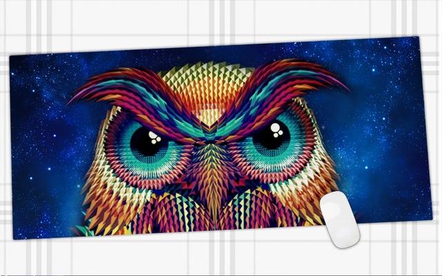 900*400mm diseño personalizado juego de alfombrilla de ratón con impreso al por mayor de Control de Velocidad edición Gaming pad de caucho Natural