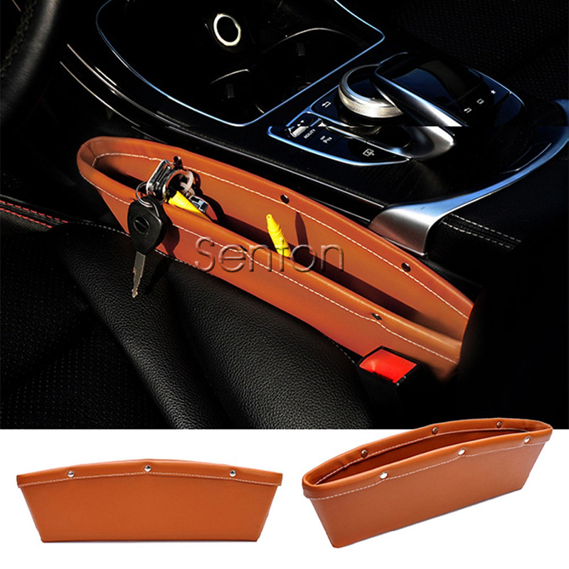 Car Styling Seat Pocket For Mitsubishi ASX Lancer 10 Pajero Outlander Honda Fit City CRV Accord HRV Civic JAZZ XRV Accessories kalaisike leather universal car seat covers for honda all models crv xrv odyssey jazz city crosstour civic crider fit accord