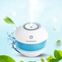 NANUM USB Magic Diamond Humidifier 7 Colors Night Lights Ultrasonic Car Aroma Essential Oil Diffuser Mini