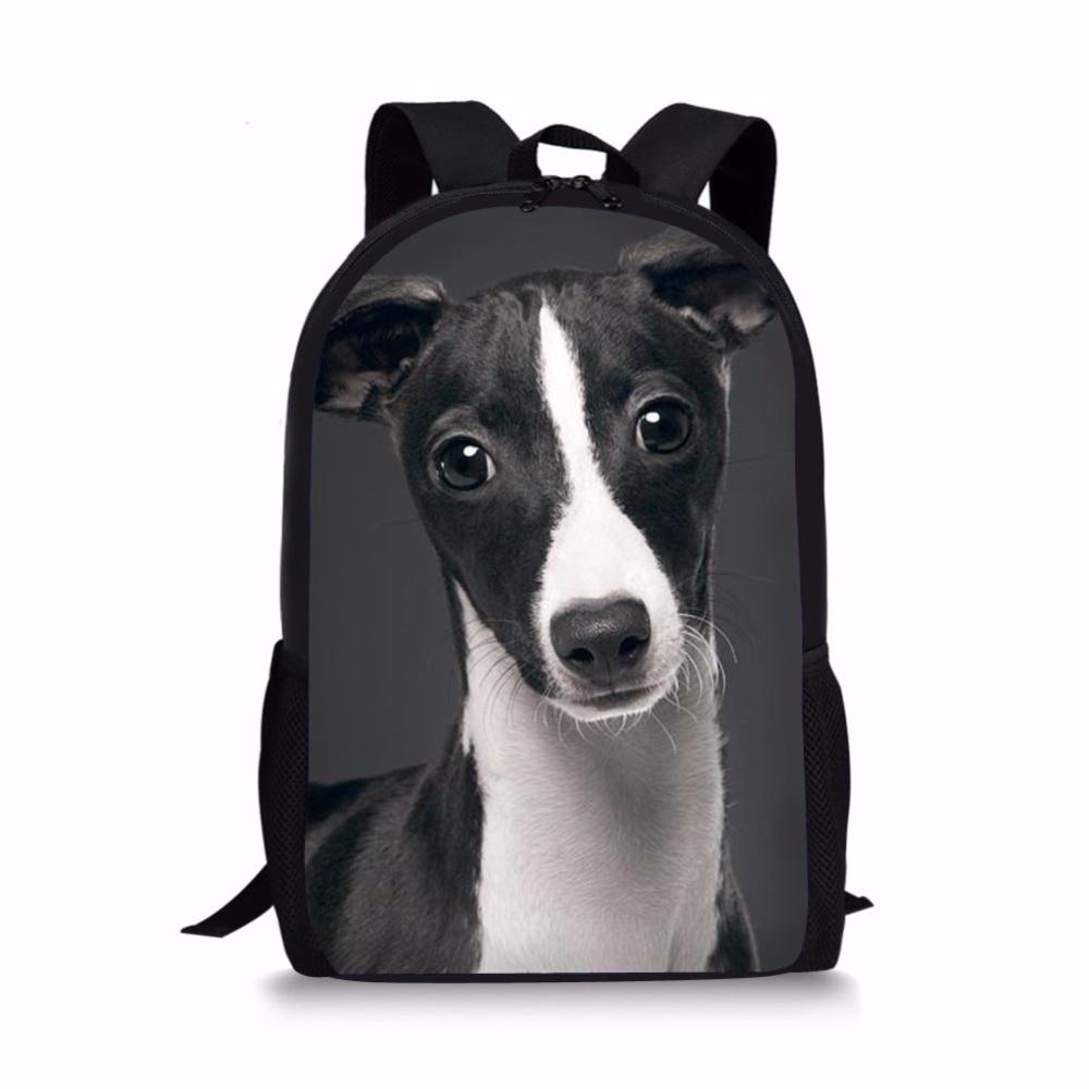 Greyhound coffee pouch greyhound zippered bag