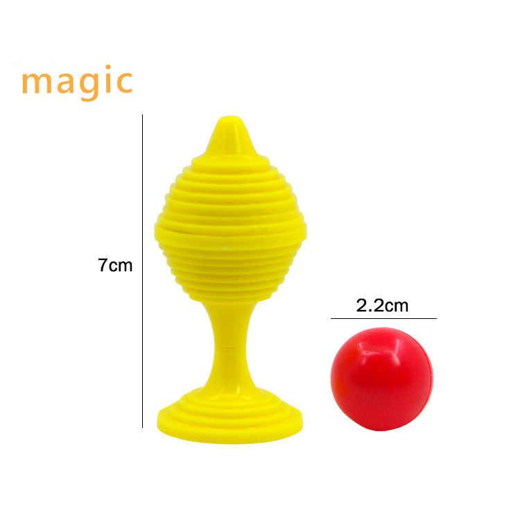 1set cuentas ir No hay rastros de la Copa mágica rompecabezas juguetes de niños cerca de-accesorios para trucos de magia