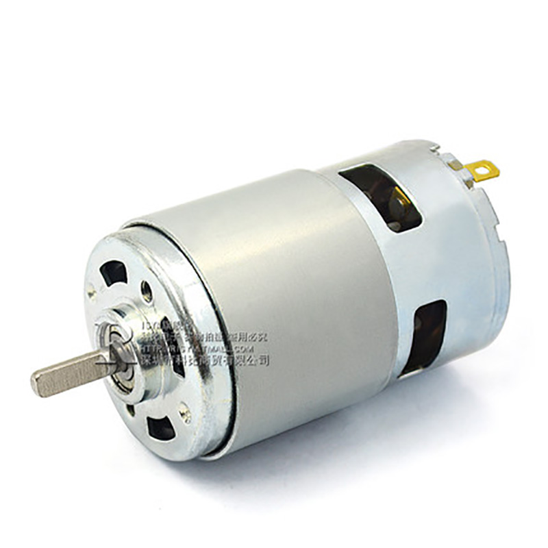 цена на 775 DC Motor DC 12V24V High Speed Large Torque Bearing Motor 11000-22000 RPM For Electric Tool