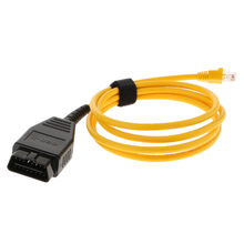 240cm ENET (Ethernet To OBD) Interface Cable E-SYS ICOM Coding OBD2 Cable Auto Car Diagnostic Tool For BMW цена в Москве и Питере