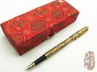 Золотая Звезда 130 авторучка 12 К chingtai изысканный меди фарфор тиснением bronzier оригинальная подарочная коробка подарочные