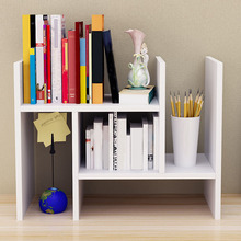 Dormitory Desktop Storage Bookshelf Creative Multi-layers Small Bookshelf Kitchen Accessories Wood Storage Rack