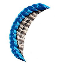 Бесплатная доставка Высокое качество 2.5 м синий двойной линии параплан кайт withflying Инструменты Мощность кос парусный спорт кайтсерфинга Радуга Спорт Пляж