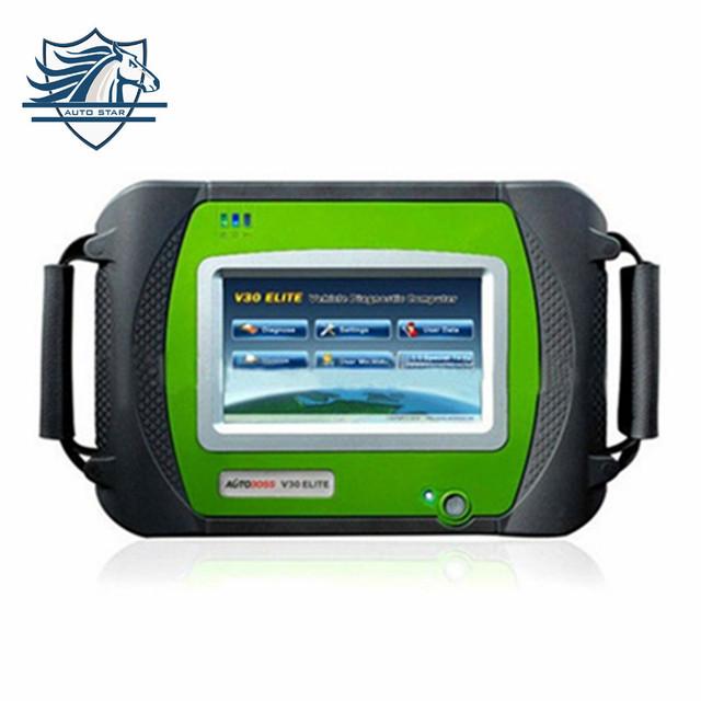 TOP SPX Autoboss Elite Super Escáner de diagnóstico auto original spx Autoboss V30 Elite en la web oficial update envío gratis