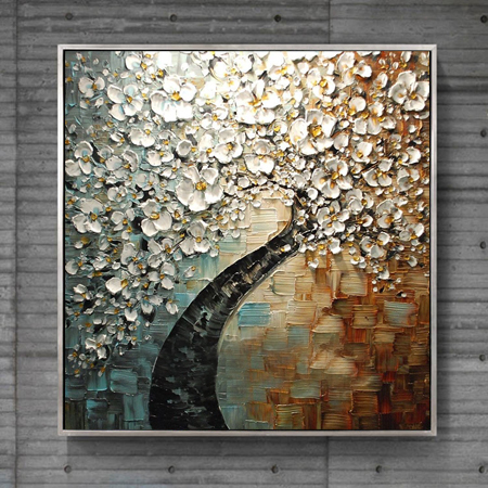 100 Hand Paint Modern Oil Painting Palette Knife Textured