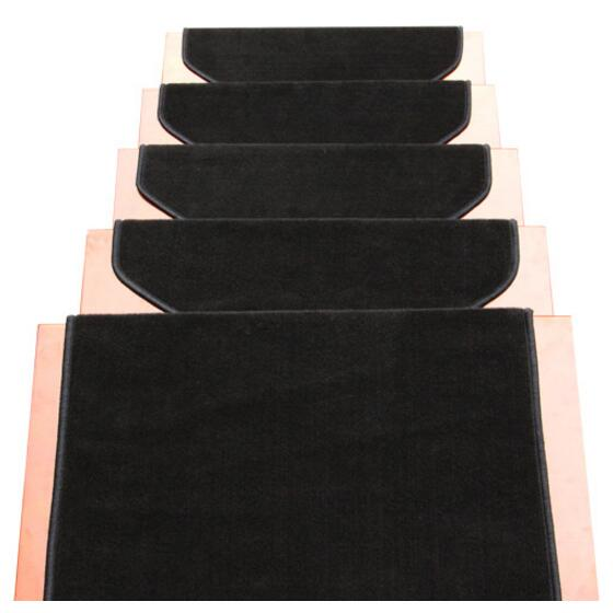Fashion 12 Pieces Stair Carpet Sets Slip Resistance Stair Tread Mats Step  Rug For Stair 65X24cm Fit For 25cm Width Stair Pad In Carpet From Home U0026  Garden On ...