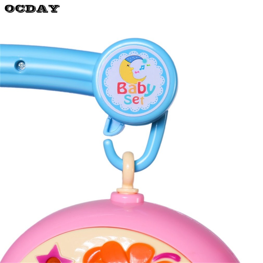Musical Crib Mobile Bed Bell Rattle Hanging Rotating Bracket Project ...