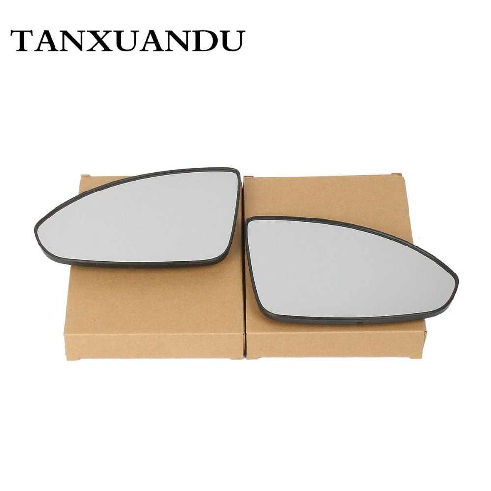 Electric Power Heated Door Wing Lens Mirror Glass Fit For CHEVROLET Cruze 2011-2016 95215096 95215095 w/Backing Plate Plane Mirr