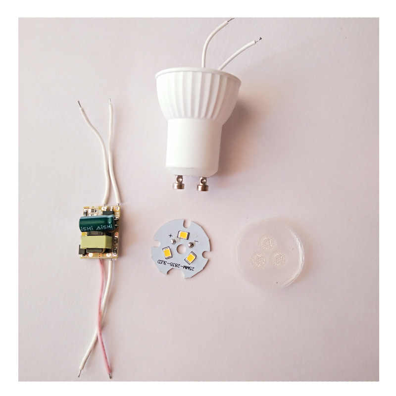 Супер яркий мини 3 Вт GU10 MR11 светодио дный лампы AC85-265V 35 мм светодио дный прожекторы теплый белый холодный белый ГУ 10 светодио дный лампы SMD 2835