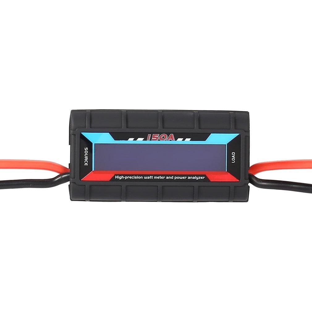 Digital 100A/130A/150A 60 V voltaje energía medidor Analizador de energía para RC Balance de batería Watt equilibrador comprobador para piezas de RC