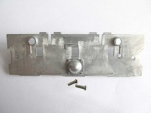 Mato Metal rear plate for  1/16 1:16 RC Panzer III, IIIH, Stug III tank, metal upgrade parts