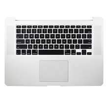For MacBook Pro Retina A1398 Top Case Keyboard backlit + Trackpad 15 2013 original late 2013 year for apple macbook pro 15 retina a1398 palm rest topcase with keyboard and touchpad us uk version