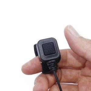 Image 4 - 2pcs ABBREE Extendable Throat MIC PTT headphone Headset for Kenwood BAOFENG BF 888s UV 5R UV 82 UV 5RE 2 way radio Walkie Talkie