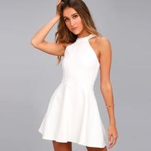 Sexy Wedding Party Dress White Lace Mini Dress