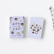 цена на 28 Pcs/box Fruit jun mini greeting cards blessing card message cards birthday card postcard gift