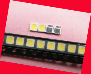 Image 4 - 200piece/lot for repair LCD TV LED backlight Article lamp SMD LEDs 1W 3030 6V Cold white light emitting diode