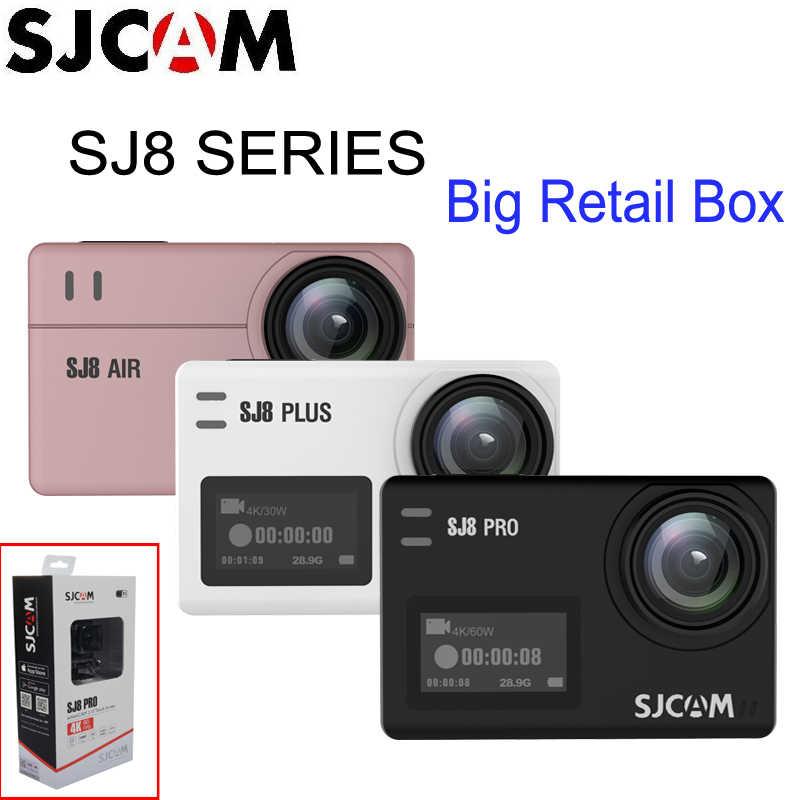 SJCAM SJ8 Pro SJ8 Series 4K 60FPS Wifi Từ Xa Mũ Bảo Hiểm Camera Hành Động Ambarella Chipset 4 K/60FPS Cực HD Thể Thao Cực Chất Camera