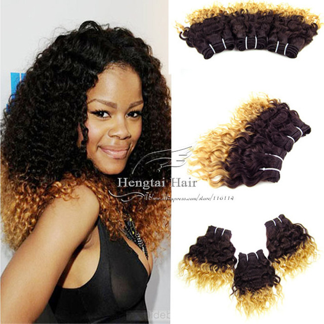 Queen Love New Style Hair Ombre African Hair Extension Two Tone 1b