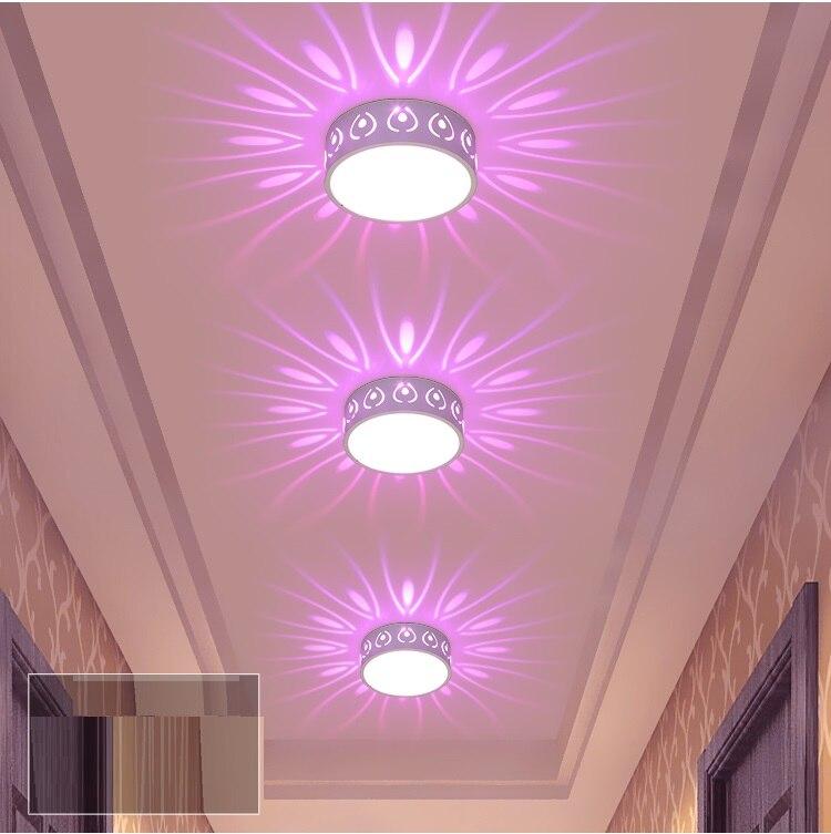 3W LED Embed/Oberfläche Montieren Pocken Modellierung Licht Decke Lampe Spot Beleuchtung Decke Korridor Doorway Wirkung Licht