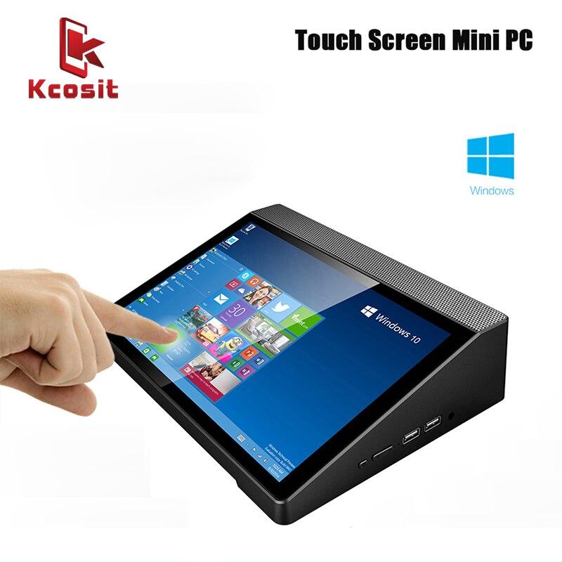 "2018 Mini PC Desktop Computers Windows 10 Home 10.1"" 1920x1200 Touch Screen All in one PC Intel Z8350 4GB RAM HDMI Media Box BT"