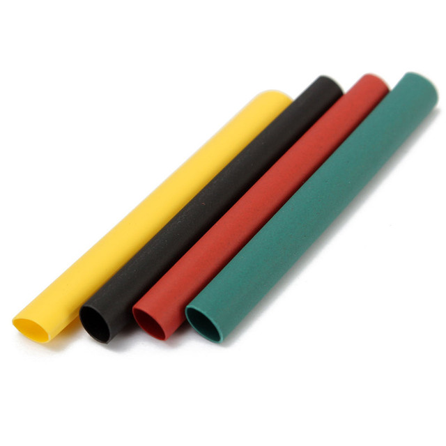 328Pcs 8 Sizes Multi Color Polyolefin 2:1 Halogen-Free Heat Shrink Tubing Tube Assortment Sleeving Wrap Tubes 2