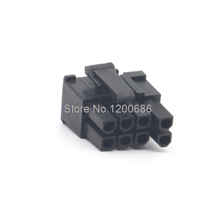 Molex 4.2mm 6 + 2 pin 8p Computer Power Plug ATX PIC E Connector ...