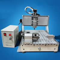 6040 CNC ROUTER ENGRAVER ALUMINUM ALLOY VISIBLE CONTROL 3 AXIS CARVING POPULAR