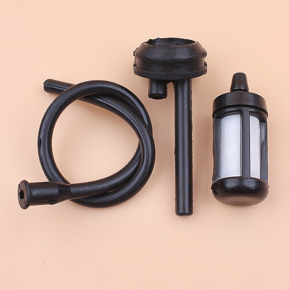 2 Set Gas Fuel Filter /& Oil Filter For 2500 25cc Chinese Chainsaw