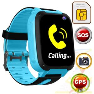 Kids Smart Watch 1.44 INCH Touch Screen GPRS LBS Location SOS Call Remote Monitor GSM Anti-Lost Watch for KidS