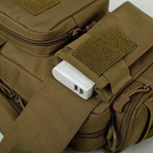 Image 4 - Naturebell nz20 새로운 6L 야외 가방 다기능 포켓 남성 어깨 슬링 핸드백 위장 전술 스토리지 핸드백