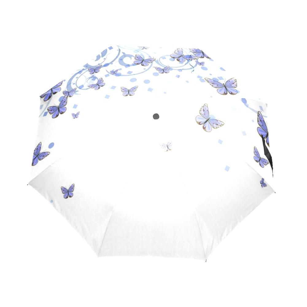 Umbrella Corporation Anti Ultraviolet Woman Rain Umbrella Three - Huishouden