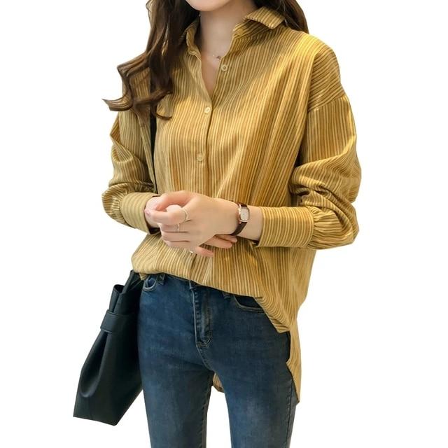 Causal Women Shirts Long Sleeve Turn Down Collar Blouse Shirt Plus Size 4XL Cotton Linen Women Tops Blusas Feminina DF2366 1