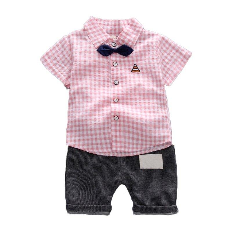 Denim Pants Suit Clothes Outfits Set 2pcs Toddler Kids Baby Boy Gentleman Coat
