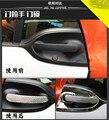 ABS серебро внешняя дверная ручка крышка Рамка для Benz Smart 2015-2017 Z2AAL176
