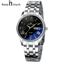 KEEP IN TOUCH women Watches Men Waterproof Noctilucent Casua
