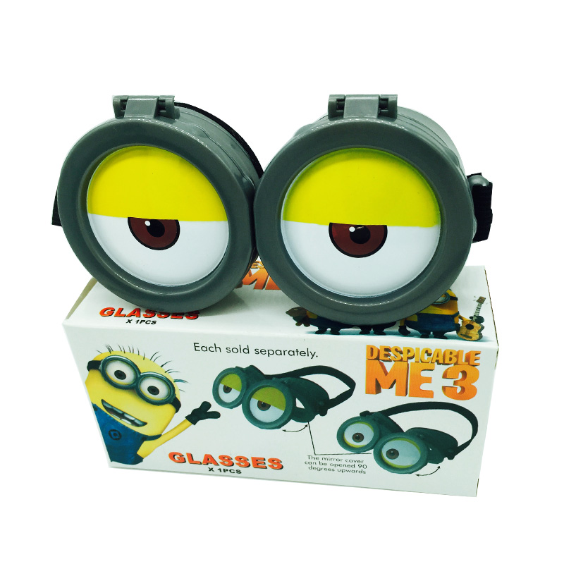 Funny Decorative Minions Cosplay Glasses Toys Minions 3d Eye Mask