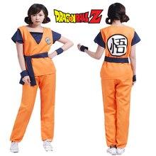 DRAGON BALL Z Goku Saiyan Cosplay Para Adultos Hombres Mujeres Uper Uniforme Traje de Halloween de Regalo