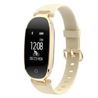 2017 S3 EGG Bluetooth SmartWristband Women Fitness Tracker Heart Rate Sleep Monitor Smart Band Sports Activities